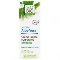 SO'BiO étic - Crème légère Hydra Aloe vera 50ml