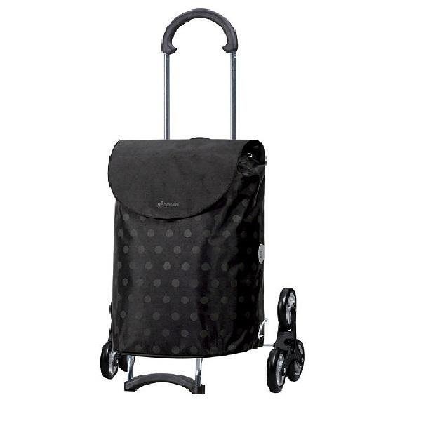 chariot courses 6 roues scala gitti noir andersen acheter sur. Black Bedroom Furniture Sets. Home Design Ideas