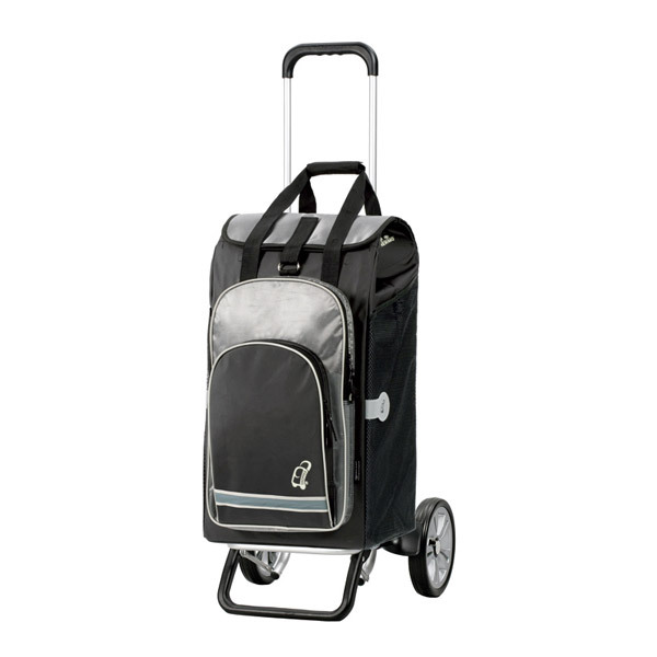 Andersen - Alu Star Hydro Nero Shopping Trolley