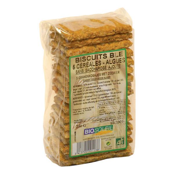 BioSoleil - 5-Korn Plätzchen Algen