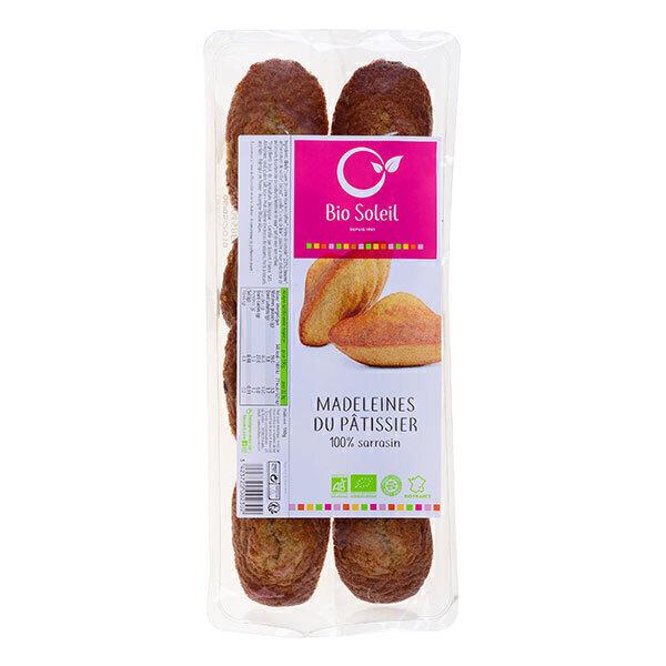 Bio Soleil - 100% Buckwheat Madeleine Cake x8