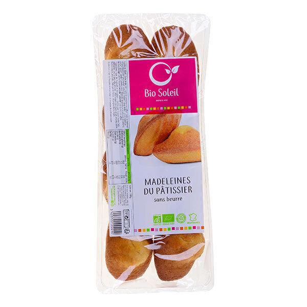 Bio Soleil - Spécialité de madeleines sans beurre x8