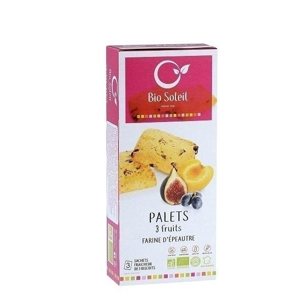 Bio Soleil - Palets 3 fruits