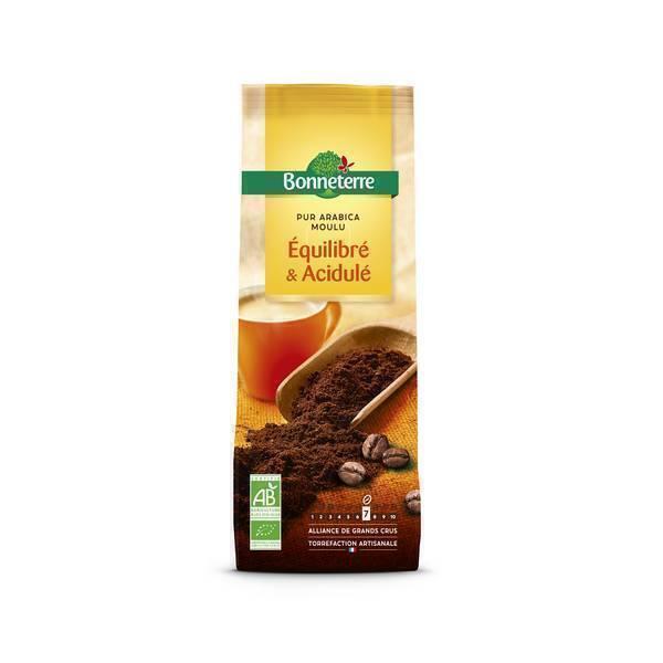 Bonneterre - Café Moulu Pur Arabica doux fruité 250g