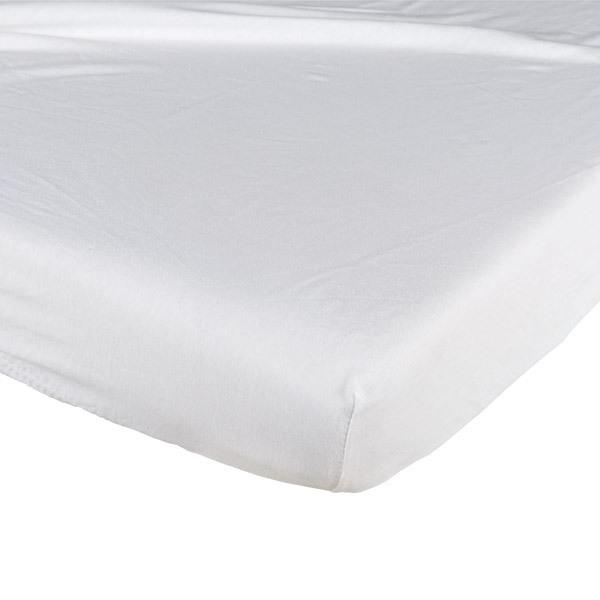 drap housse bambou 70x140 blanc candide la r f rence bien tre bio b b. Black Bedroom Furniture Sets. Home Design Ideas