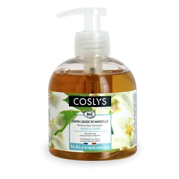 Coslys - Savon liquide de Marseille Fleur d'Oranger 300ml