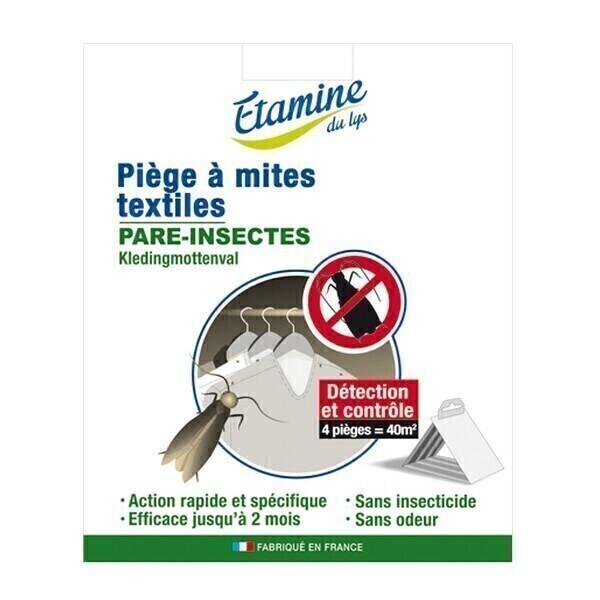 Etamine du Lys - Piège naturel mites textiles x4