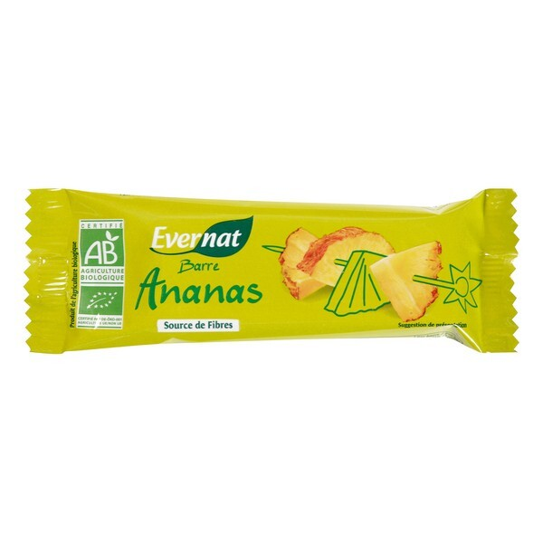 Evernat - Barre Ananas 40g
