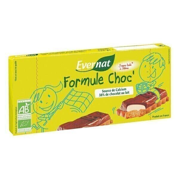 Evernat - Biscuits Formule Choc 125g