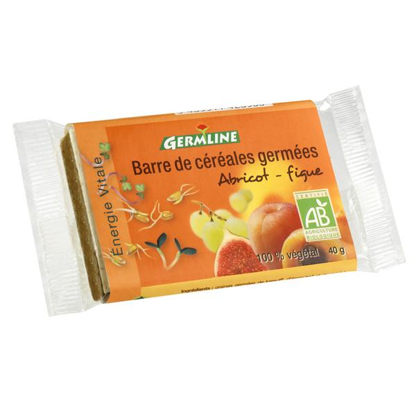 Germ'line - Barra de cereales germinados Albaricoque Higo 40g
