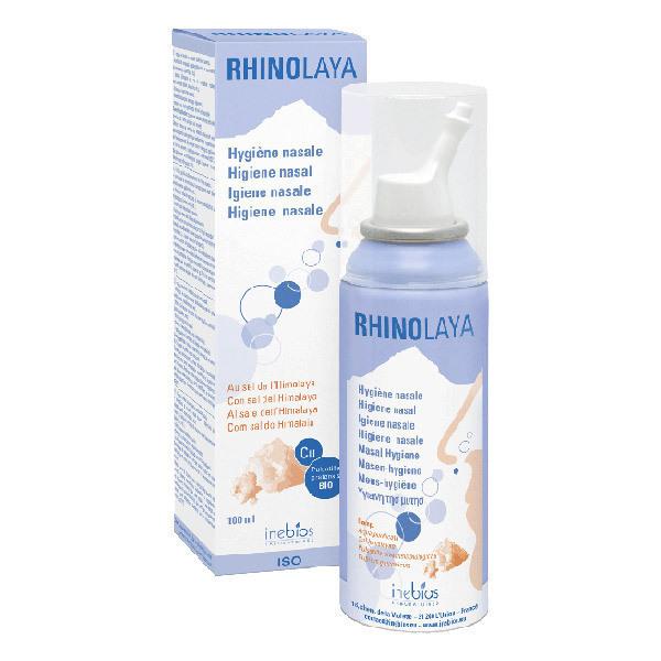 Inebios Laboratoires - Rhinolaya Spray Isotonique 100ml