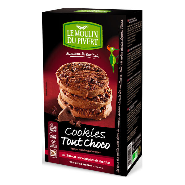Le Moulin du Pivert - Chocolate cookies 175g