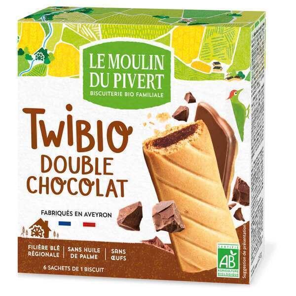 Le Moulin du Pivert - Twibio deux chocolats 150g