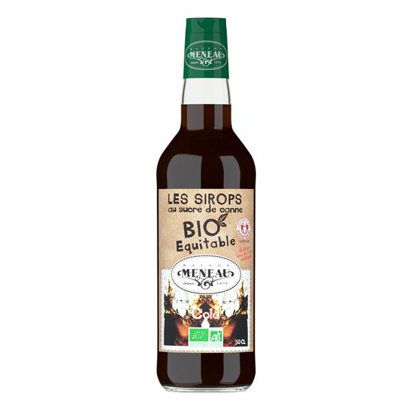 Maison Meneau - Sirop cola au sucre de canne bio 50cl