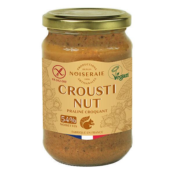 Noiseraie - Pâte à tartiner croustinut 54 p.c noisette - 300g