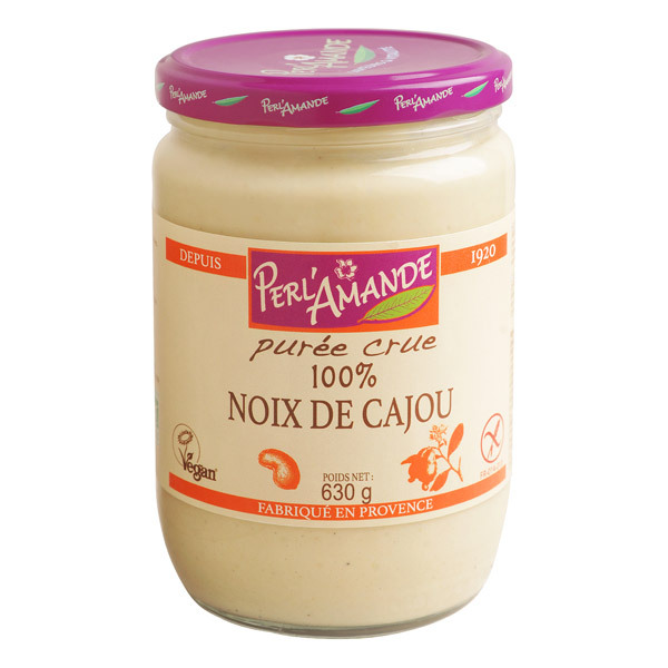 Perlamande - Cashew - Butter bio 630 g