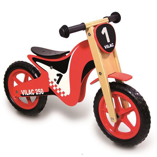 Vilac - Draisienne Moto en bois - Dès 3 ans