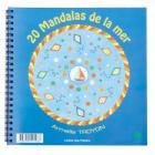 Ecodis - Cahier de coloriage 20 mandalas de la mer