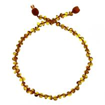 BalticWay - Collier enfant Ambre Billes Honey Clip
