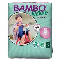 Bambo Nature - 18 Culottes d'apprentissage XL Plus - 18kg+ T6