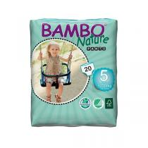 Bambo Nature - 20 Culottes d'apprentissage jetables T5 12-20kg