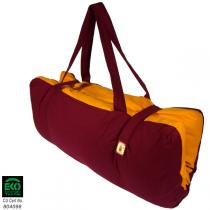 Chin Mudra - Transportable Zabuton cushion Burgundy - Saffron