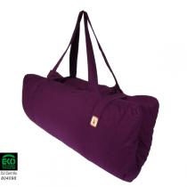 Chin Mudra - Transportable Zabuton cushion Plum