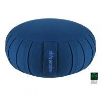 Chin Mudra - Coussin Zafu Kapok Stand 30 cm - Bleu