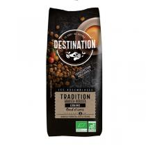 Destination - Café en grains - tradition Arabica-Robusta 1kg