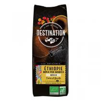 Destination - Café moulu Ethiopie Moka pur arabica 250g