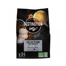 Destination - Sélection pur arabica Dosettes souples x36