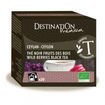Destination - Schwarzer Tee Waldbeeren - 20x2 g
