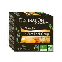 Destination - Grüner Tee Earl Grey Ceylon - 20x2 g