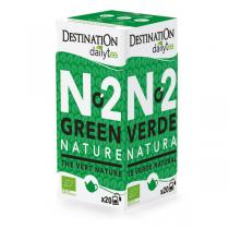 Destination - Thé vert nature ceylan - 20x2g