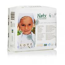 Naty by Nature Babycare - Eco Windeln 4er Pack 7-18 kg Größe 4