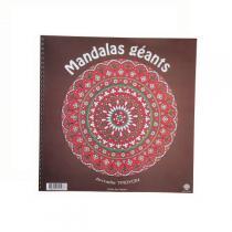 Ecodis - Cahier de coloriage 18 mandalas géants