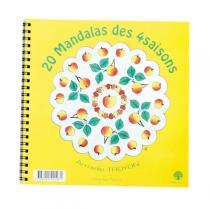 Ecodis - 20 Mandala delle 4 stagioni da Colorare