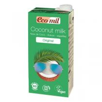 EcoMil - Coconut Milk With Agave Syrup 1L