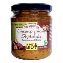 Le Petit Bio - Délice de Légumes Champignons Shiitakés 200g
