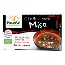 Priméal - Cube pour soupe miso en cube 80g