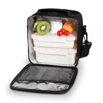 Valira - Compact Lunch Box - Black -NOMAD