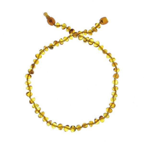 BalticWay - Child's Honey Amber Beaded Necklace