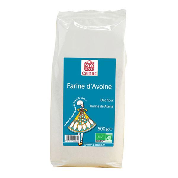 Celnat - Farine d'avoine 500g