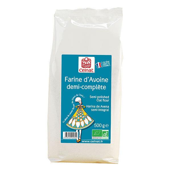 Celnat - Farine d'avoine demi complète 500g
