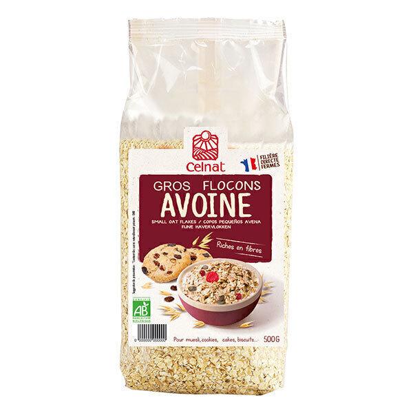 Celnat - Gros flocons d'avoine origine France 500g