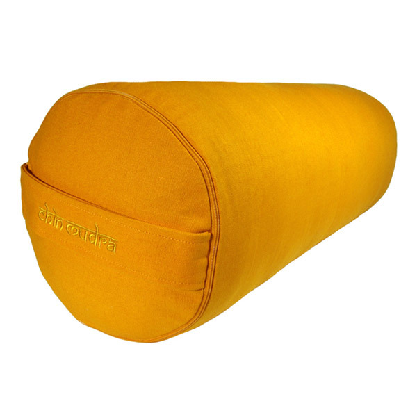 Coussin Bolster Cylindre   Safran | Chin Mudra