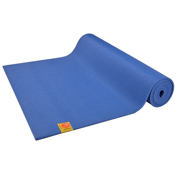 Chin Mudra - Yoga Mat Extra thick 6mm Blue