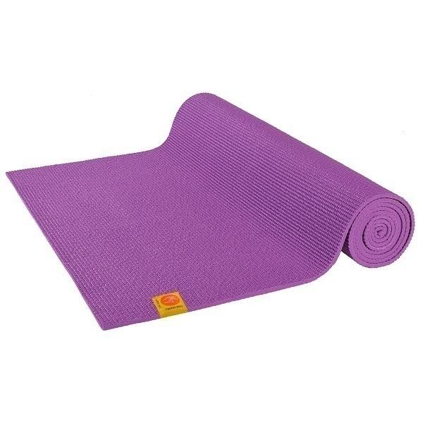 Chin Mudra - Tapis de yoga Confort pour débutant 6mm Mauve