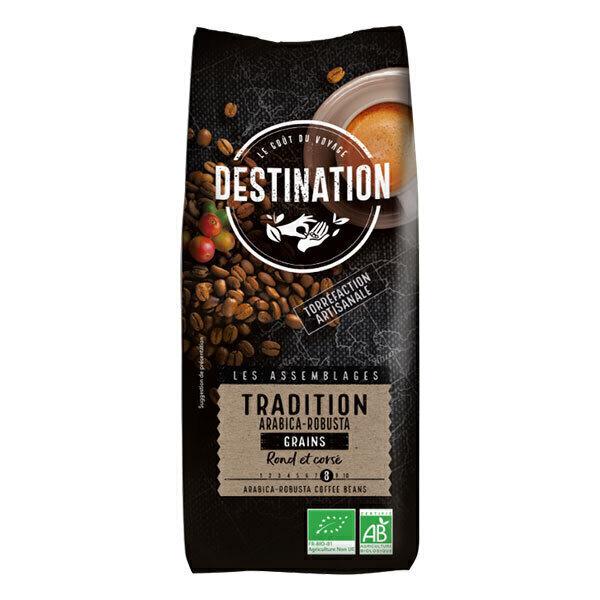 Destination - Café grain Tradition arabica-robusta 1kg