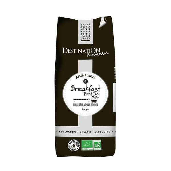 Destination - Gemahlener Kaffee BIO - Ptit Déj' 500 g